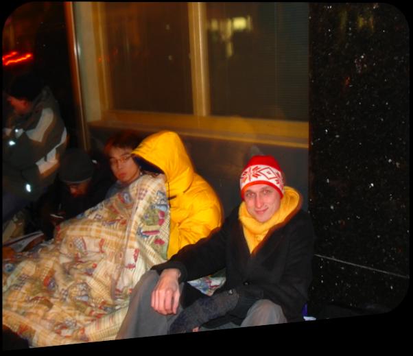 Prvo noč v Londonu sem preživel kar na ulici med popolnimi neznanci