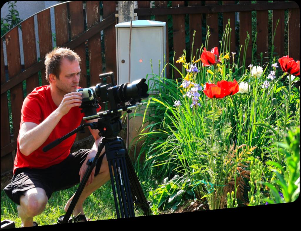 Snemanje filma Mak popotnik (©2009 Milenko Prevec)