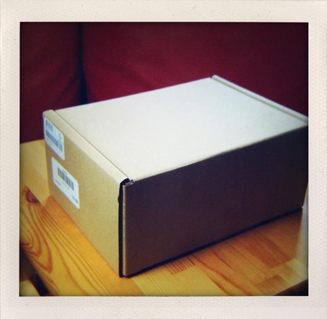 Rjava transportna škatla
